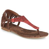 Cipők Női Szandálok / Saruk Desigual SHOES_LUPITA_LOTTIE Konyak / Piros