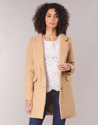 Ruhák Női Kabátok Betty London JRUDON Bézs
