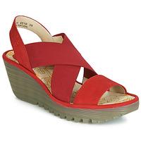 Cipők Női Félcipők Fly London YAJI Piros