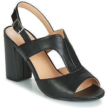 Cipők Női Szandálok / Saruk Moony Mood JALILIA Fekete