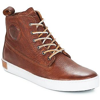 Cipők Férfi Magas szárú edzőcipők Blackstone INCH WORKER Barna