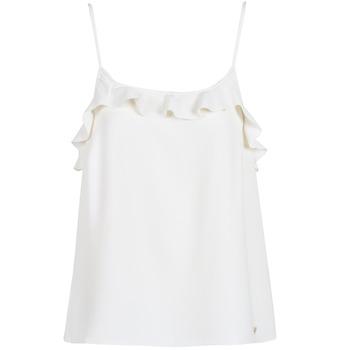 Ruhák Női Trikók / Ujjatlan pólók Les Petites Bombes AZITAFE Fehér