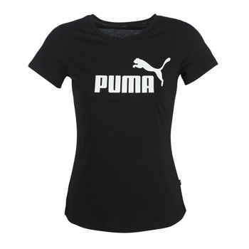 Ruhák Női Rövid ujjú pólók Puma PERMA ESS TEE Fekete