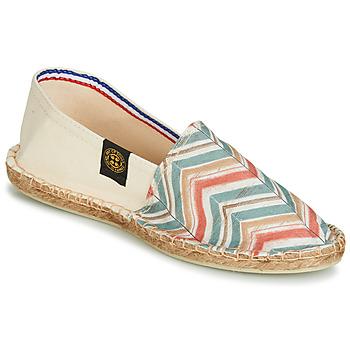 Cipők Női Gyékény talpú cipők Art of Soule BOHEME BICOLOR Bézs / Kék / Korall