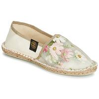 Cipők Női Gyékény talpú cipők Art of Soule BOHEME Bézs / Virág
