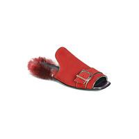 Cipők Női Papucsok Papucei OBSENTUM Piros