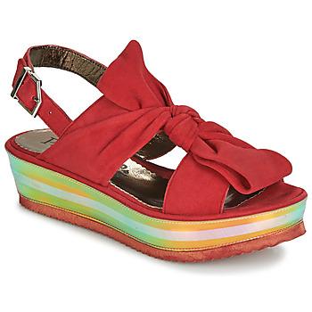 Cipők Női Szandálok / Saruk Papucei CONDE Piros