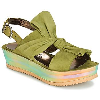 Cipők Női Szandálok / Saruk Papucei CONDE Zöld