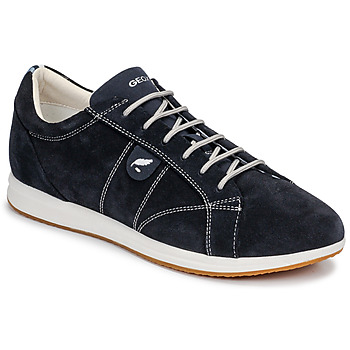Cipők Női Rövid szárú edzőcipők Geox D AVERY Tengerész