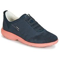Cipők Női Rövid szárú edzőcipők Geox D NEBULA Tengerész