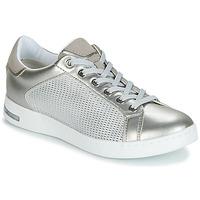 Cipők Női Rövid szárú edzőcipők Geox D JAYSEN Ezüst