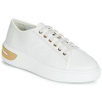 Cipők Női Rövid szárú edzőcipők Geox D OTTAYA Fehér