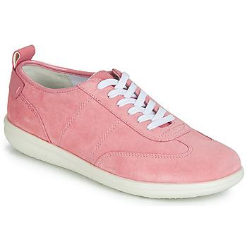 Cipők Női Rövid szárú edzőcipők Geox D JEARL Rózsaszín