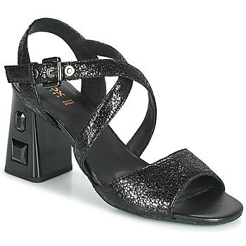 Cipők Női Szandálok / Saruk Geox D SEYLA S. HIGH PLUS Fekete