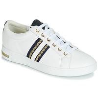 Cipők Női Rövid szárú edzőcipők Geox D JAYSEN Fehér