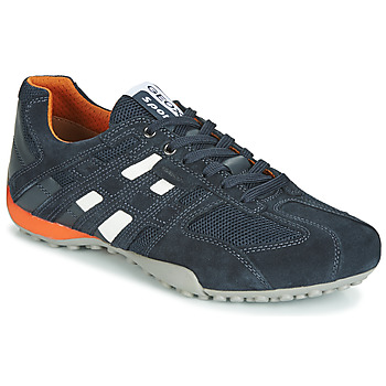 Cipők Férfi Rövid szárú edzőcipők Geox UOMO SNAKE Tengerész