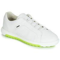 Cipők Férfi Rövid szárú edzőcipők Geox U NEXSIDE Fehér