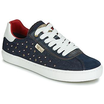 Cipők Lány Rövid szárú edzőcipők Geox J KILWI GIRL Tengerész