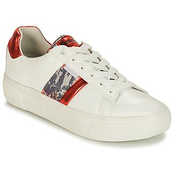 Cipők Női Rövid szárú edzőcipők Refresh 69954 Fehér / Piros
