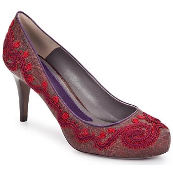 Cipők Női Félcipők Etro BRIGITTE B728-600-piros