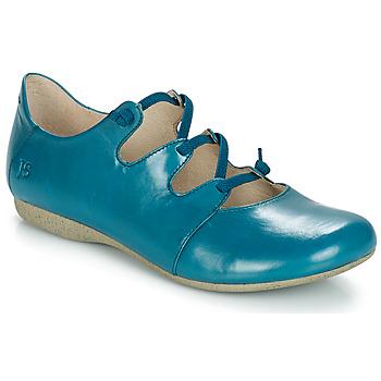 Cipők Női Balerina cipők  Josef Seibel FIONA 04 Kék
