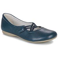 Cipők Női Balerina cipők  Josef Seibel FIONA 39 Kék
