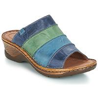 Cipők Női Papucsok Josef Seibel CATALONIA 64 Kék