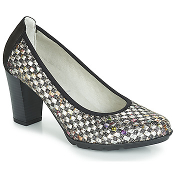 Cipők Női Félcipők Dorking 7736 Szürke / Fekete