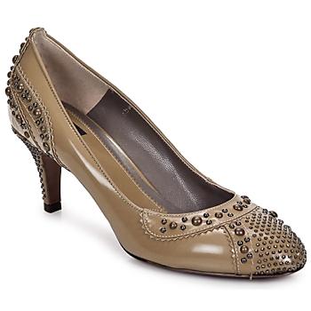 Shoes Női Bokacsizmák Etro GRACE 711-Indios-Bézs