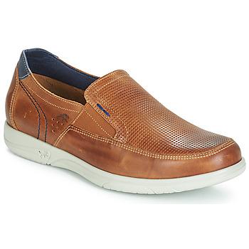Cipők Férfi Belebújós cipők Fluchos SUMATRA Tengerész