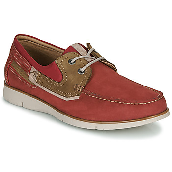 Cipők Férfi Vitorlás cipők Fluchos GIANT Piros