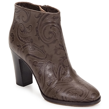 Cipők Női Bokacsizmák Etro MARLENE Kasmírminta-barna