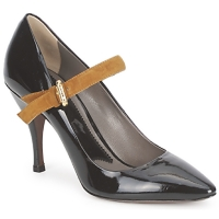Cipők Női Félcipők Etro SHIRLEY Fekete-mustár