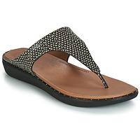 Cipők Női Szandálok / Saruk FitFlop BANDA II DOTTED-SNAKE Természetes / Kígyó