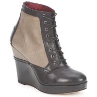 Shoes Női Bokacsizmák Antonio Marras CALIB Szürke / Fekete