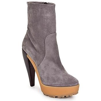 Shoes Női Bokacsizmák Kallisté BOTTINE 5959 Peltro