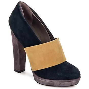 Shoes Női Félcipők Kallisté BOTTINE 5854 Szürke-Mustár sárga