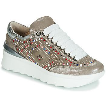 Cipők Női Rövid szárú edzőcipők Fru.it 5357-008 Bézs / Fényes