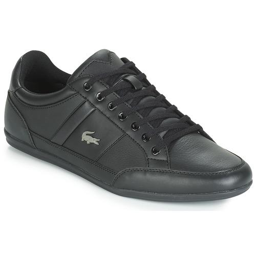 Cipők Férfi Rövid szárú edzőcipők Lacoste CHAYMON BL 1 Fekete