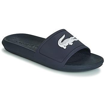 Cipők Férfi strandpapucsok Lacoste CROCO SLIDE 119 1 Tengerész / Fehér