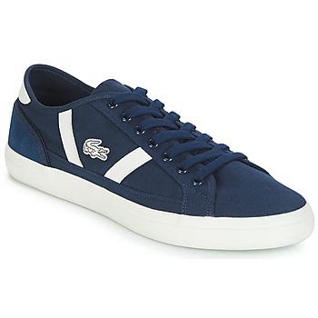 Cipők Férfi Rövid szárú edzőcipők Lacoste SIDELINE 119 1 Tengerész / Fehér
