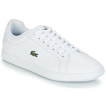 Cipők Női Rövid szárú edzőcipők Lacoste GRADUATE BL 1 Fehér