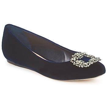 Cipők Női Balerina cipők / babák Sebastian ELIAJU Kék