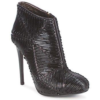 Cipők Női Bokacsizmák Roberto Cavalli QPS566-PN018 Fekete