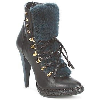 Cipők Női Bokacsizmák Roberto Cavalli QPS583-PZ260 Barna
