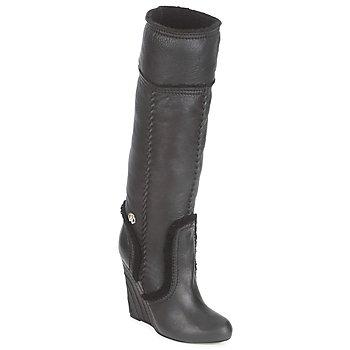 Cipők Női Városi csizmák Roberto Cavalli QDS598-PJ007 Fekete