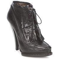 Cipők Női Bokacsizmák Roberto Cavalli QDS640-PZ030 Fekete