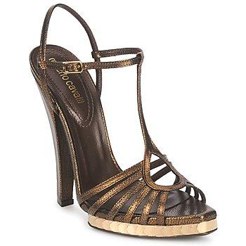 Cipők Női Szandálok / Saruk Roberto Cavalli QDS627-PM027 Bronz