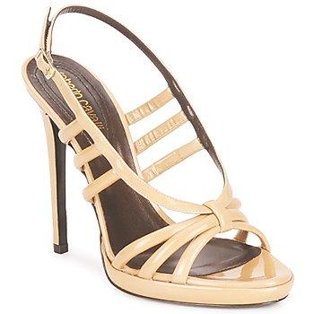 Cipők Női Szandálok / Saruk Roberto Cavalli QDS626-PL028 Bézs