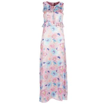 Ruhák Női Hosszú ruhák Smash ISABELA Rózsaszín